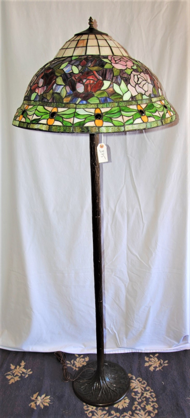 stained glass floor lamp. Black Bedroom Furniture Sets. Home Design Ideas
