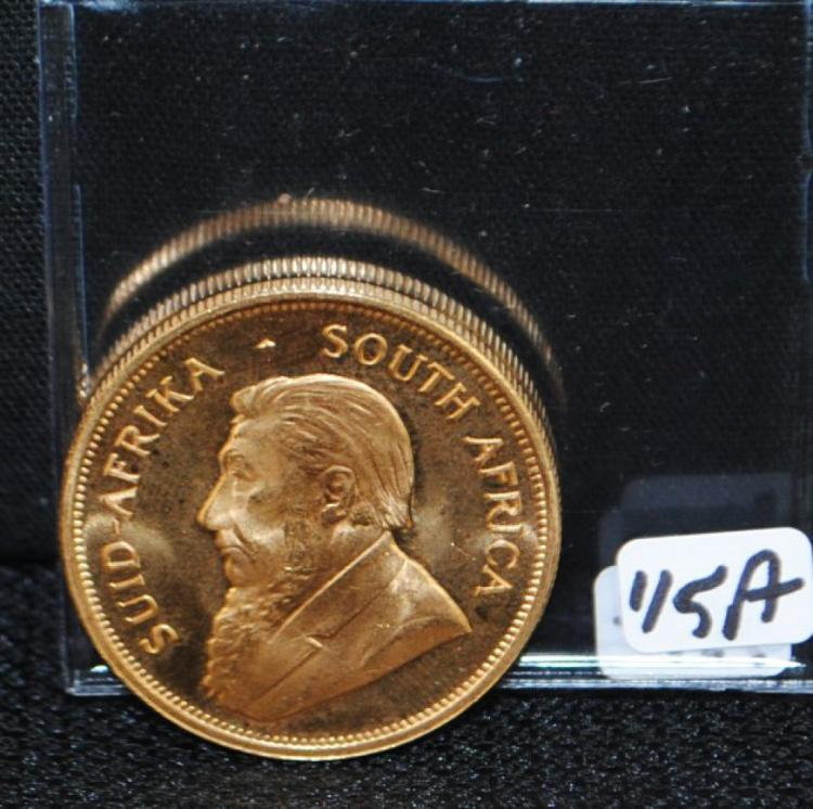 1978 KRUGERRAND ONE OUNCE FINE GOLD COIN