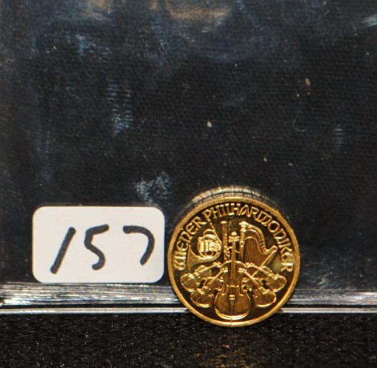 2009 10 EURO 1/10 AUSTRIA PHILHARMONIC GOLD COIN