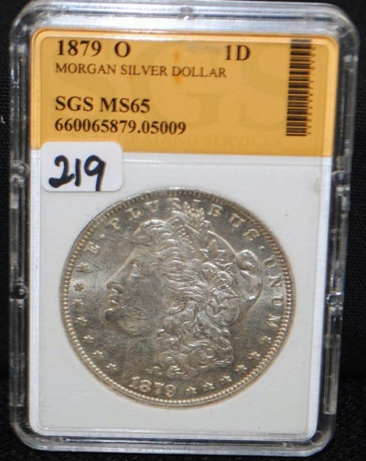 1879-0 MORGAN DOLLAR FROM SAFE DEPOSIT