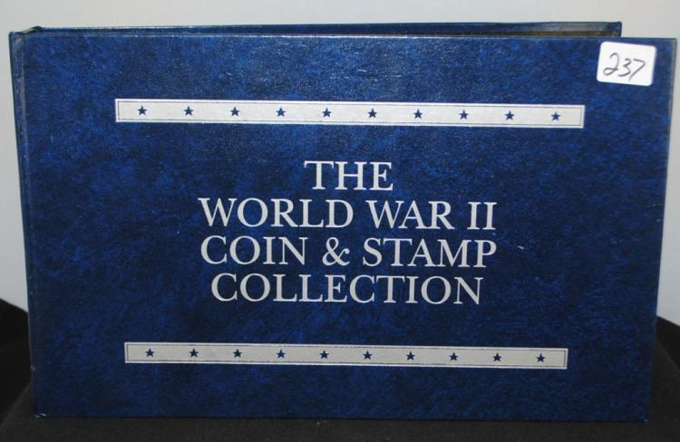 THE WW II COIN & STAMP COLLECTION