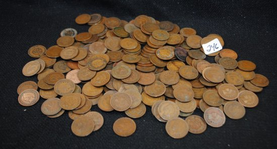 246 INDIAN HEAD CENTS FROM SAFE DEPOSIT