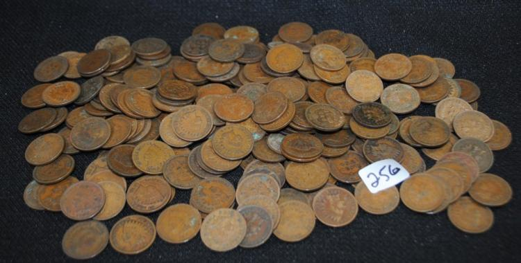 218 INDIAN HEAD CENTS FROM SAFE DEPOSIT