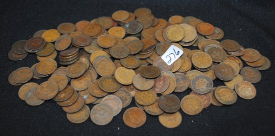 191 INDIAN HEAD CENTS FROM SAFE DEPOSIT