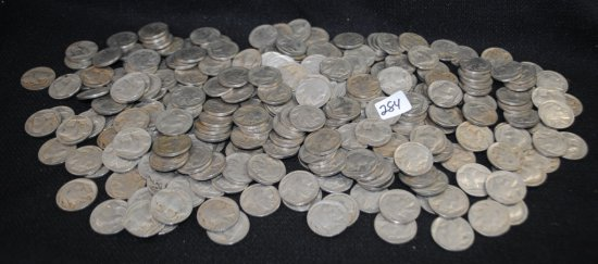 266 BUFFALO NICKELS FROM SAFE DEPOSIT
