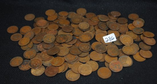 183 INDIAN HEAD CENTS FROM SAFE DEPOSIT