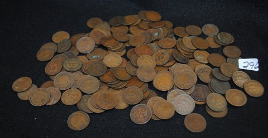 177 INDIAN HEAD CENTS FROM SAFE DEPOSIT