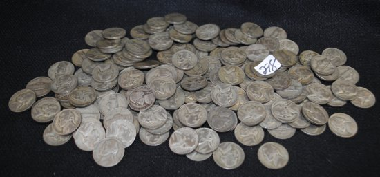 157 WW II 'SILVER WAR NICKELS