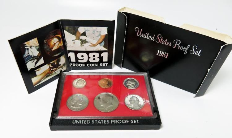 1981-S UNITED STATES COIN PROOF SET