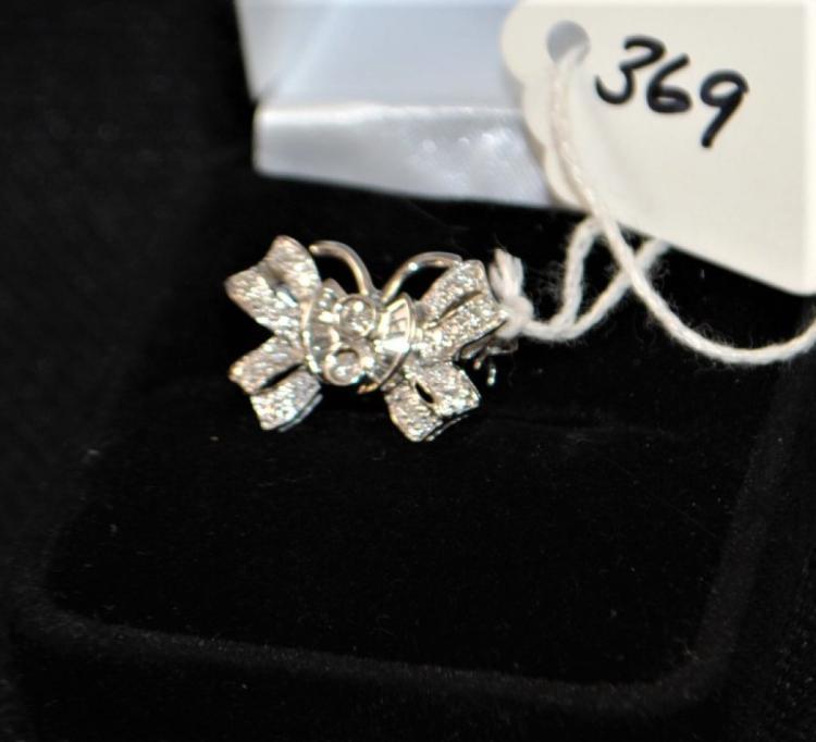 LADY'S 18K WHITE GOLD DIAMOND