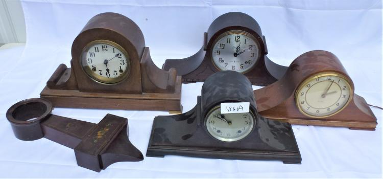 4 Camel Back Clocks Amp 1 Banjo Clock Case