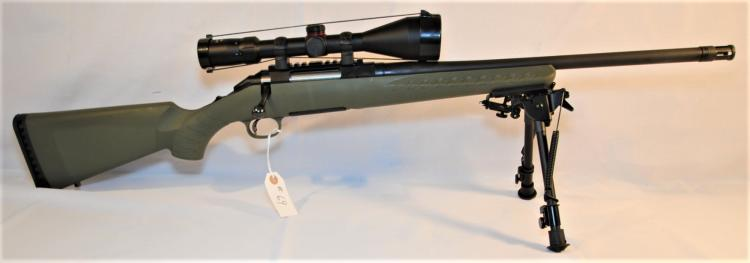 RUGER AMERICAN .308 WIN CAL RIFLE & SCOPE