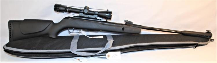 CAMO WHISPER BB RIFLE - NEVER FIRED WITH SOFT CASE