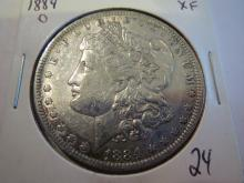 1884O Morgan Silver Dollar - XF
