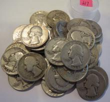 Qty. 40 Silver Quarters
