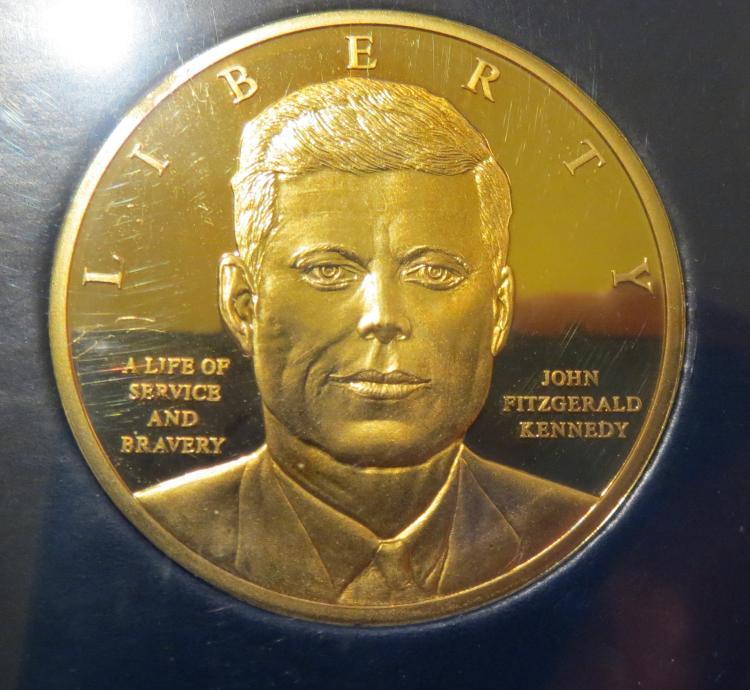 john f kennedy coin set