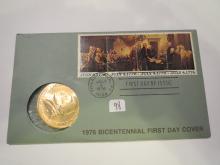1976 Bicentinnieal Thomas Jefferson Medal