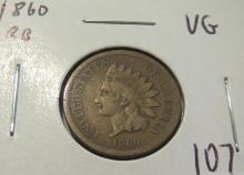 1860 Indian Head Penny - VG