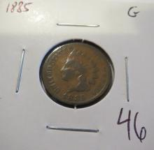 1885 Indian Head Penny - G
