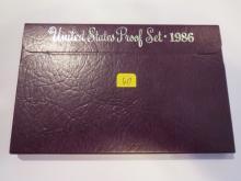1986S US Proof Set