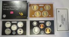 2011S US Silver Proof Set