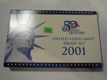 2001S US Proof Set