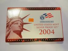 2004S US Silver Proof Set