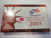 2005S US Silver Proof Set