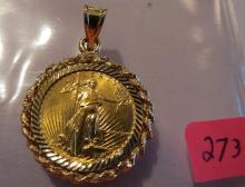1986 American 1/10 oz Gold Eagle