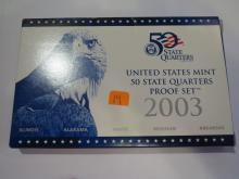 2003S US Quarters Proof Set
