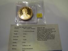 William H. Taft medal