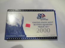 2000S US Quarters Proof Set