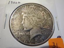 1926D Peace Silver Dollar
