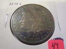 1879S Morgan Silver Dollar - XF