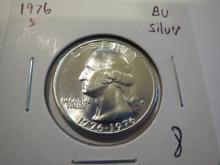 1976S Washington Silver Quarter