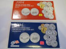 2004 P & D US Mint Set - UNC