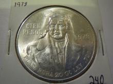 1978 Mexico Cien 100 Pesos Silver
