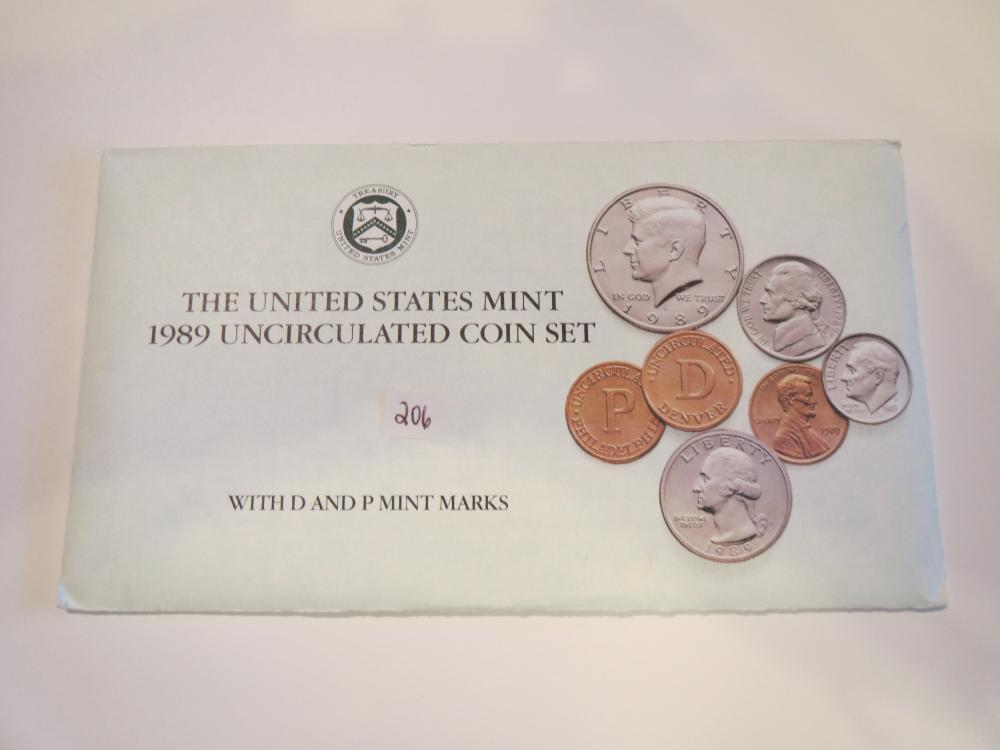 1989 United States Uncirculated Mint set