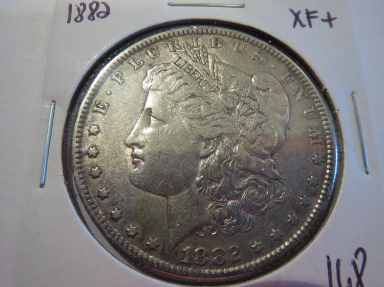 1882 Morgan Silver Dollar - XF