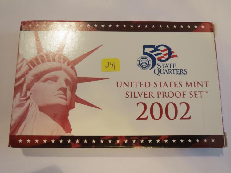 2002S US Silver Proof Set