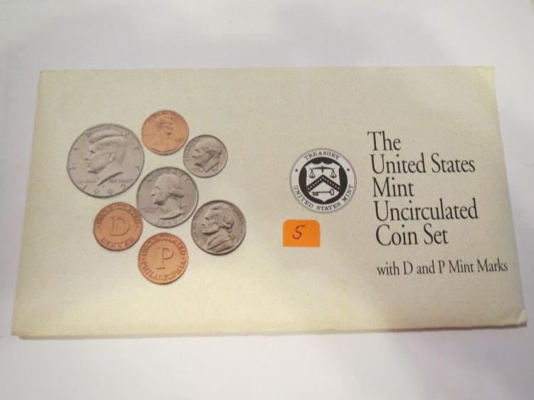 1992 US P & D Mint Set - UNC