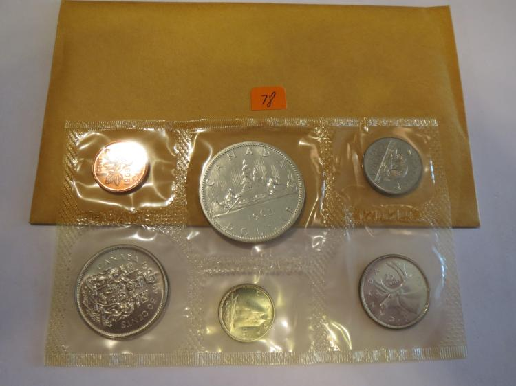 1965 Canada Silver Proof-like Mint Set