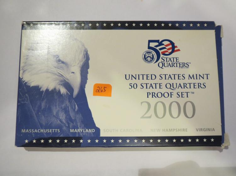 2000S US Quarters Proof Set