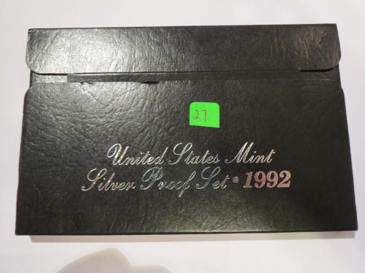 1992S US Silver Proof Set