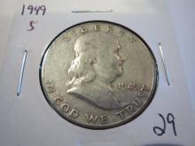 1949S Franklin Half Dollar