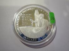 Kennedy Inauguration Speech 1961 Medal
