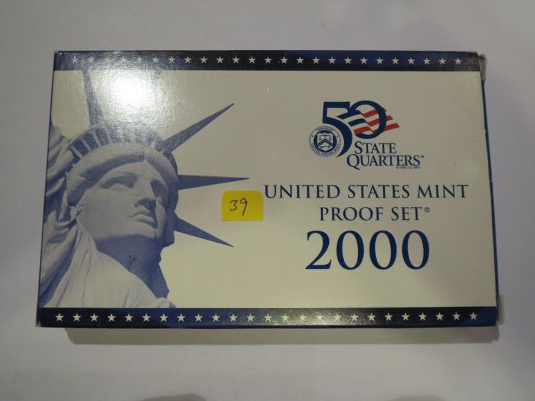2000S US Proof Set