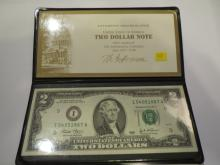 2003 Two Dollar Note - UNC