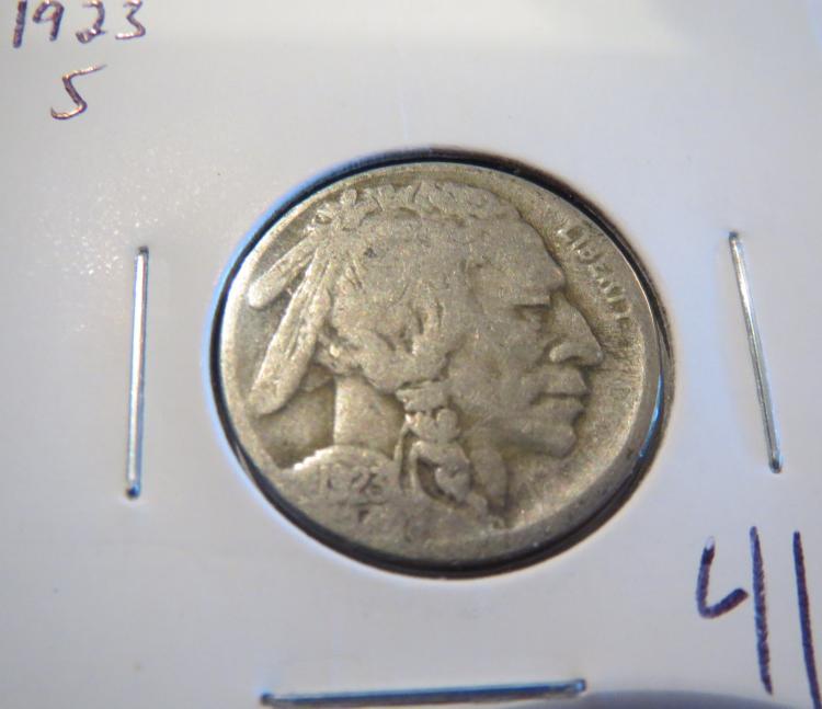 1923S Buffalo Nickel
