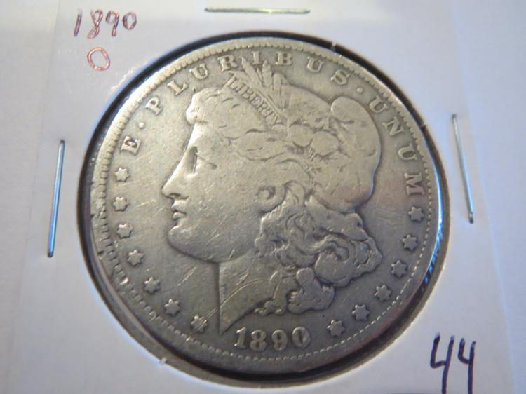 1890O Morgan Silver Dollar